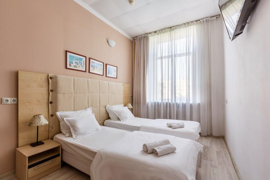Семейный номер с 2 спальнями для 6 человек